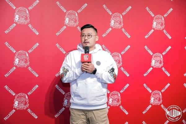 Palladium中国区总经理Kevin Ma致辞