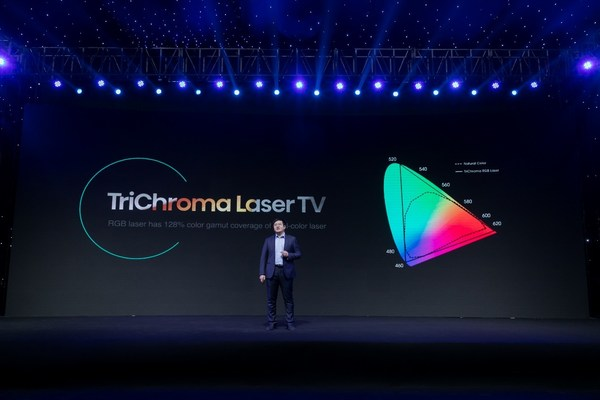 Hisense Fisher Yu: Laser TV Enters TriChroma Era in 2021