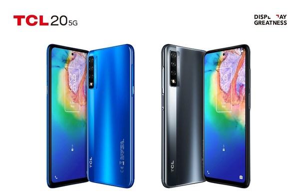 CES 2021:TCL海外发布全新20系列5G手机 夯实显示专家身份