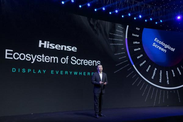 Pada tahun 2021, Hisense akan memberi tumpuan terhadap kecekapan teras kualiti gambar dan aplikasi serta melancarkan produk TV ULED baharu dengan kadar segar semula dan julat dinamik yang tinggi selain TV Laser TriChroma baharu.