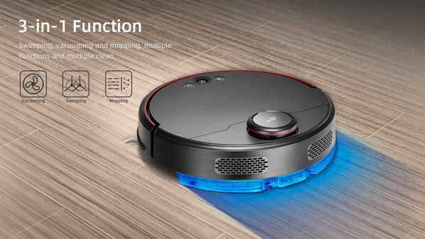 PUPPYOO's Robot Vacuum Cleaner R60
