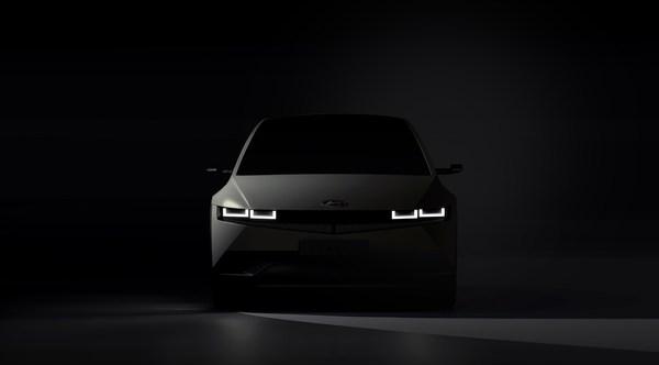 Hyundai Motor Company Teases First Image of IONIQ 5