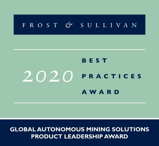 Sandvik Lauded by Frost & Sullivan for Enabling Automation and Digitalization in Underground and Surface Mining with its AutoMine® and OptiMine® Portfolio