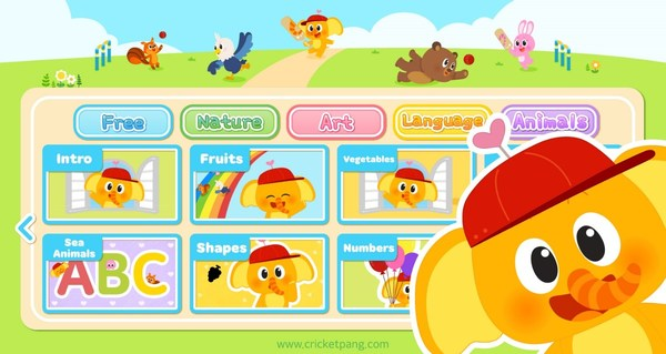 CricketPang Kindergarten, an educational app by You Need Character, exceeds 60,000 downloads a month after launch.