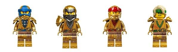 此次推出的乐高幻影忍者复刻经典套装将包括限量收藏版的金色幻影忍者小人仔