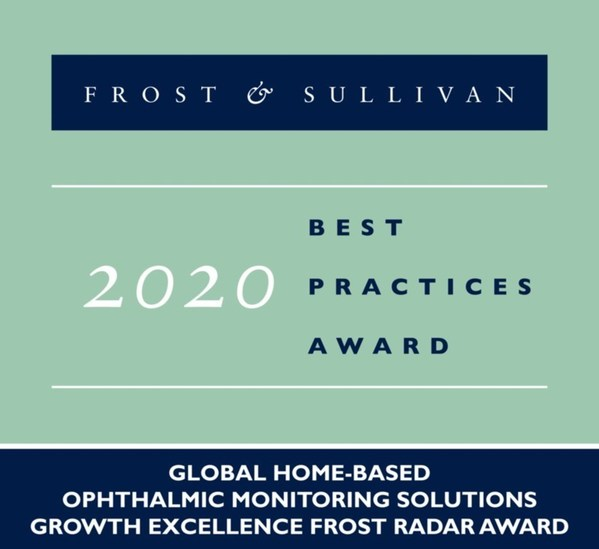 EyeQue Acclaimed by Frost & Sullivan for Its Wide Range of Consumer-friendly, Hand-held Ophthalmic Monitoring Solutions