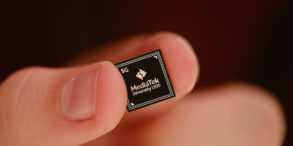 MediaTek's newest 5G chipset, the Dimensity 1200.