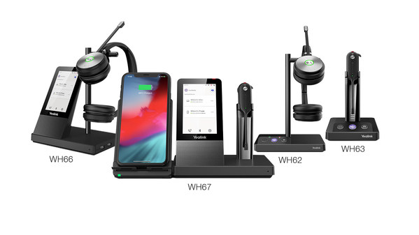 Yealink Announces New WH6x Series DECT Wireless Headsets×UC Workstation Certified for Microsoft Teams: Redefine Your Workspace