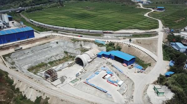 CREC พาชมโครงการก่อสร้างทางรถไฟความเร็วสูงจาการ์ตา-บันดุง