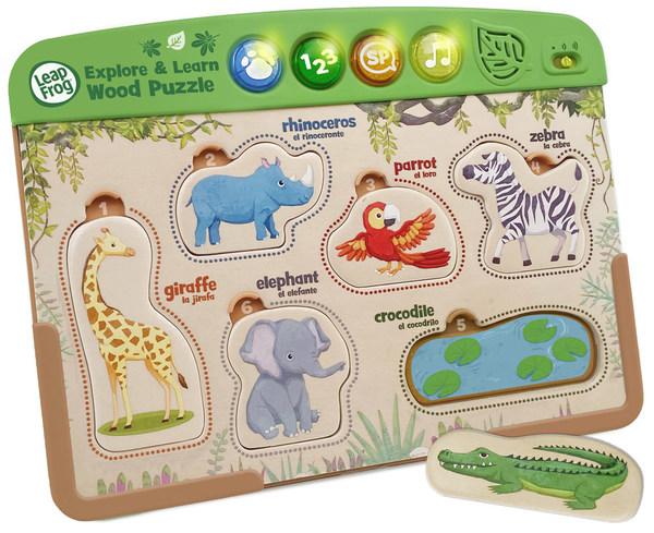 偉易達將會採購經Forest Stewardship Council®認證的負責任林木原料,製成新的木製玩具── Interactive Wooden Animal Puzzle™。
