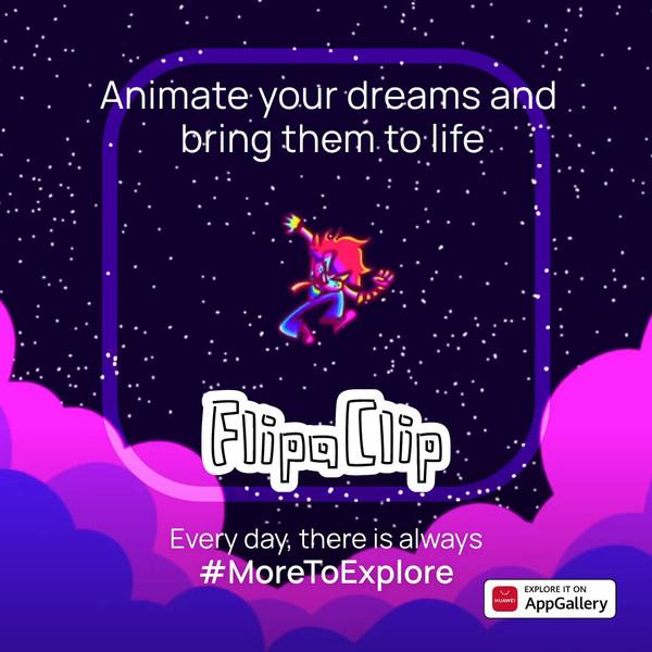 Thỏa sức sáng tạo của bạn cùng với FlipaClip trên AppGallery ngay hôm nay