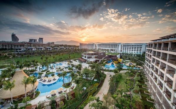 三亚香格里拉度假酒店外观日景