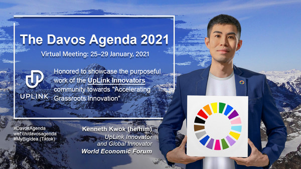 Kenneth Kwok, World Economic Forum UpLink and Global Innovator, aims to advance the intersectionality of #impact, #innovation and #inclusion