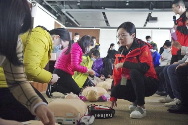 广州地铁员工急救培训