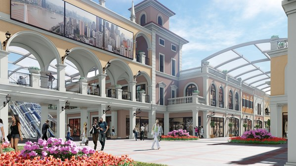 佛罗伦萨小镇—重庆名品奥特莱斯效果图