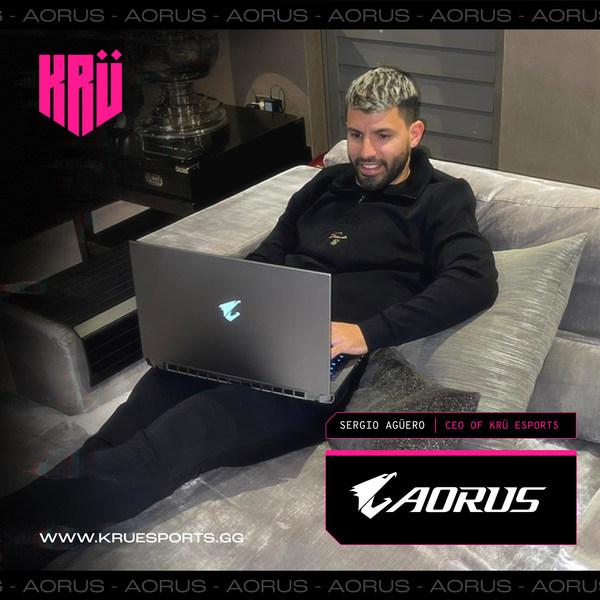 Surprising Duo! AORUS Teams Up with Football Star Sergio Agüero in Esports