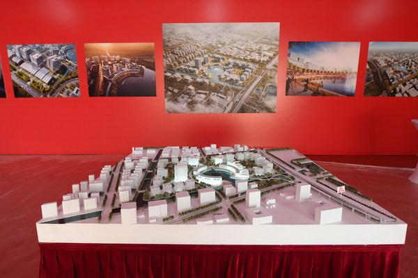 东方智媒城项目沙盘