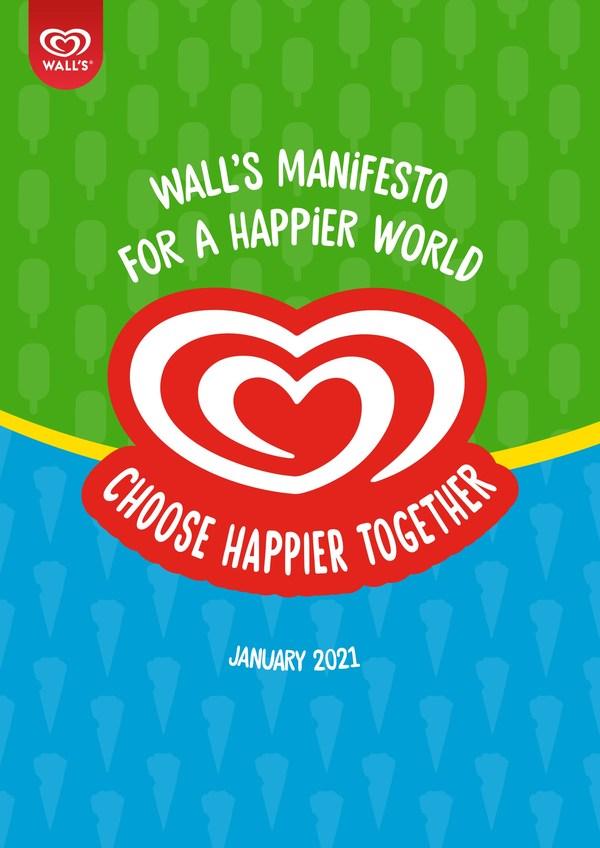 """ไอศกรีมวอลล์สนับสนุนให้ใช้ """"ความสุข"""" เป็นมาตรวัดความก้าวหน้าทางสังคมอย่างแท้จริง"""
