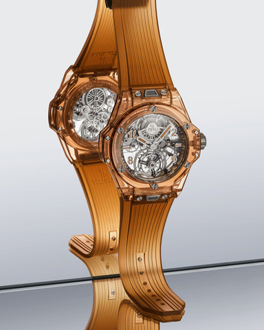 Big Bang Tourbillon Automatic Orange Sapphire (2)