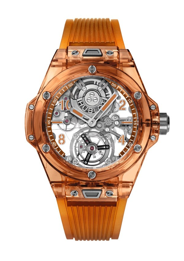 Hublot Launches New Big Bang Tourbillon Automatic Orange Sapphire