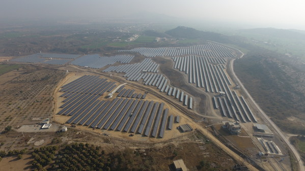 Fauji Solar Power Plant in Pakistan