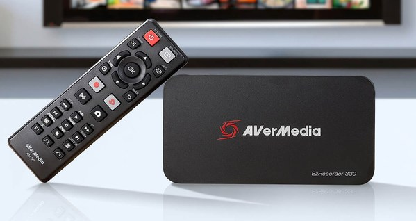 "AVerMedia Launches Standalone Capture Box ""EzRecorder 330"" with PC-Free Streaming and Cross-Generational Gameplay Support"