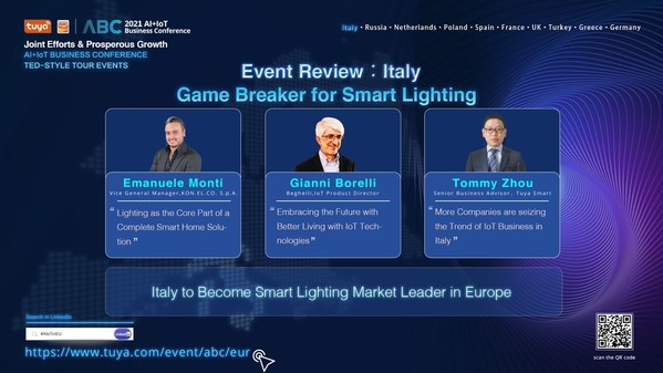 AI+IoT Business Conference — TED-Style Tour Events (Europe | Online) Italy