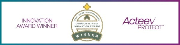 Teknologi Acteev Ascend Performance Materials menerima anugerah dalam Outdoor Retailer Innovation Awards
