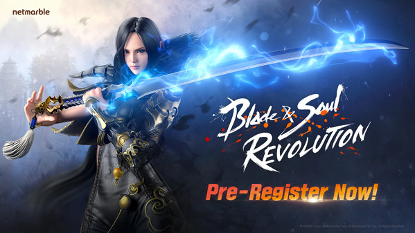 Open World Mobile RPG Blade & Soul Revolution Opens Pre-registration ahead of Global Launch