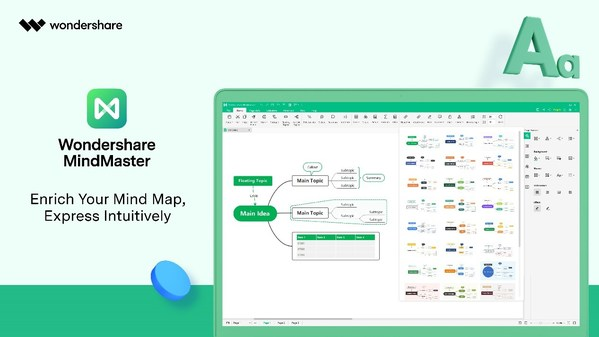 Wondershare MindMaster 8.5: Shape Mind Maps with Endless Possibilities