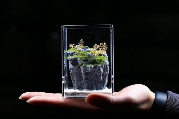Customize tiny formicarium