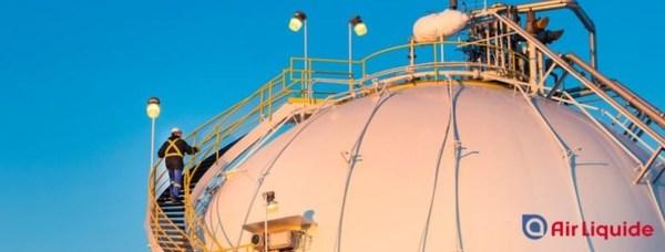 液化空气世界最大的低碳质子交换膜制氢装置在加落成