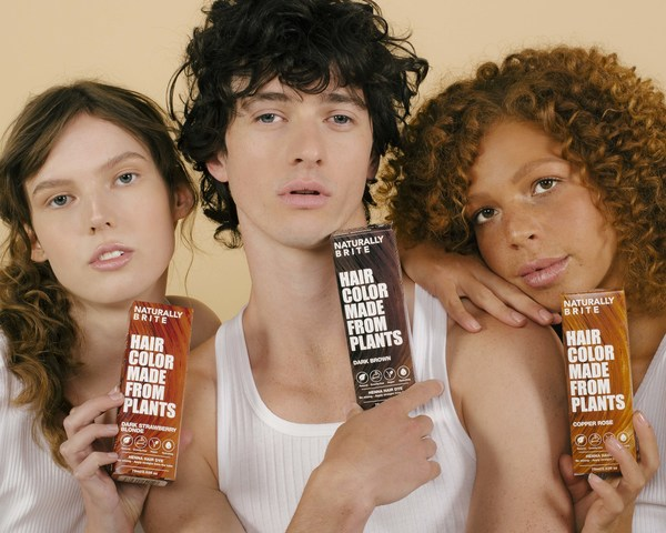 Introducing the First Pre-Mixed Plant-Based Hair Color Formula: Naturally Brite