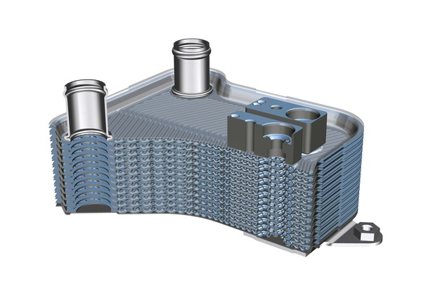 BENTELER's climate-friendly high-pressure heat exchanger delivers high cooling capacity for batteries during charging.