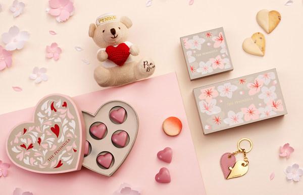 半島精品店與貴賓見證幸福,用象徵愛情的紅寶石巧克力分享浪漫