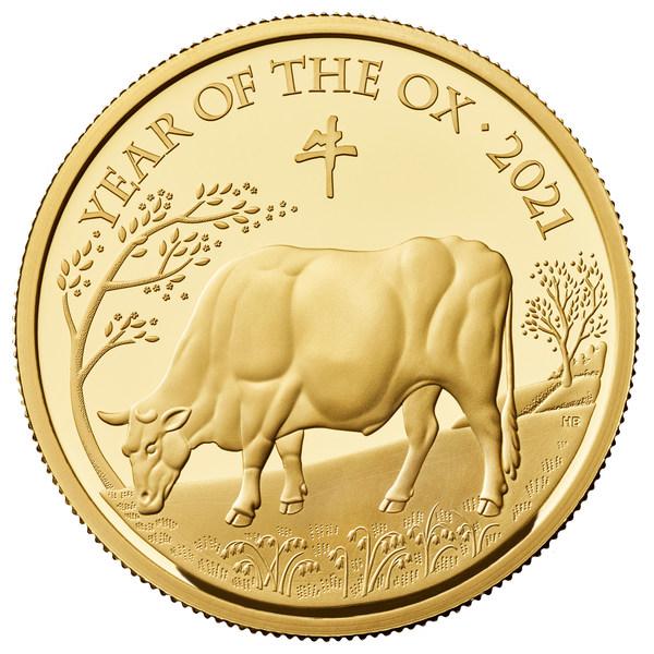 英国皇家铸币局推出牛年纪念币庆贺中国新年