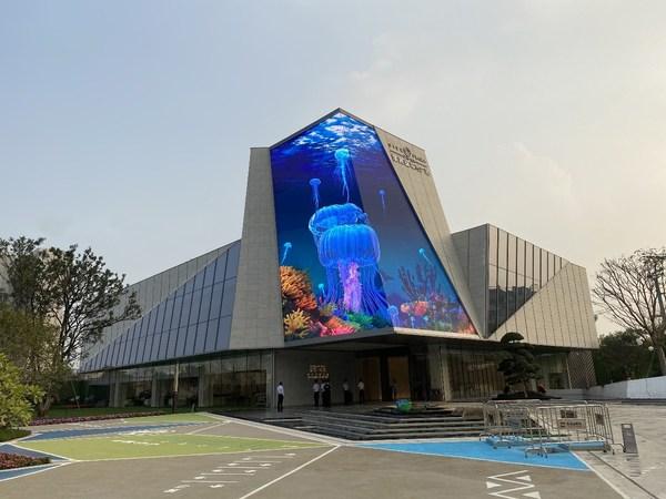 AbsenがKaisa Prosperityに巨大LEDディスプレーソリューションを提供
