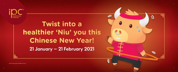 "IPC Shopping Centre Ushers the Lunar New Year with an ""Ox-mented"" Reality Twist"
