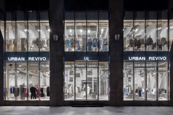 传递独特创意美学 URBAN REVIVO大上海时代广场店盛大开业