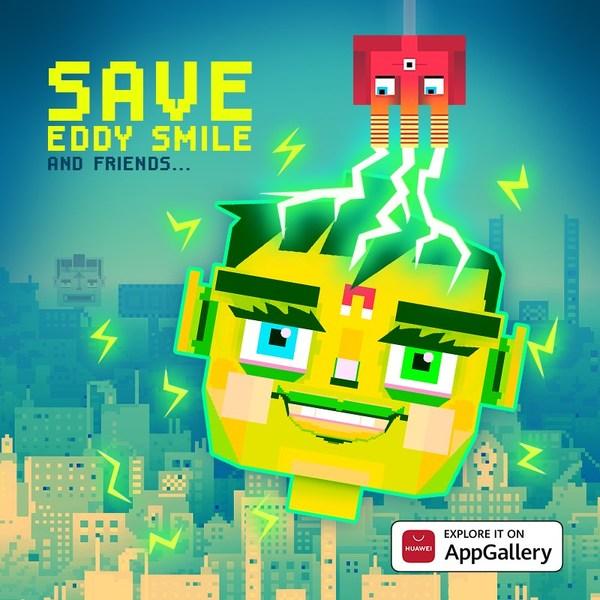 AppGalleryユーザー、世界で最初にSave Eddy Smileをプレー
