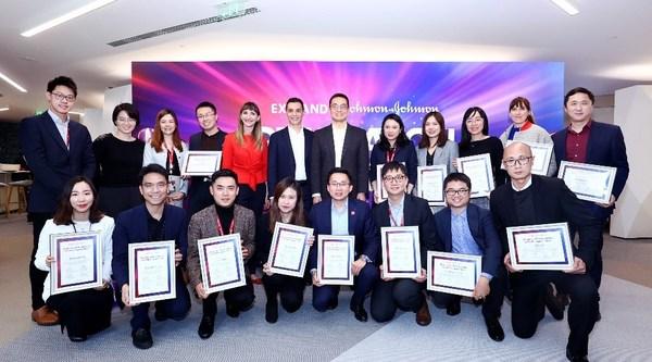 强生在中国举行创新人才交流EXPAND项目,2021年1月第一期顺利毕业