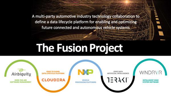 커넥티드카 및 자율주행 차량의 데이터 관리를 위한 퓨전 프로젝트 착수