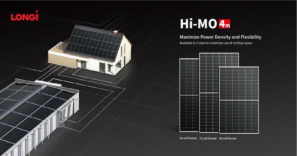 LONGi, 세계 분산 발전(DG) 시장용 신제품 66C형 Hi-MO 4m 모듈 출시