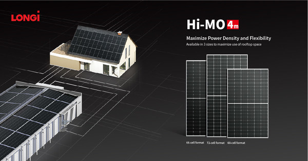 LONGi launches new 66C type Hi-MO 4m module for global distributed generation (DG) market