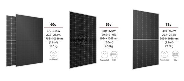 Hi-MO 4m series modules