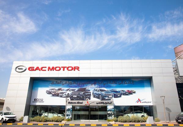 クウェートのGAC MOTORショールーム