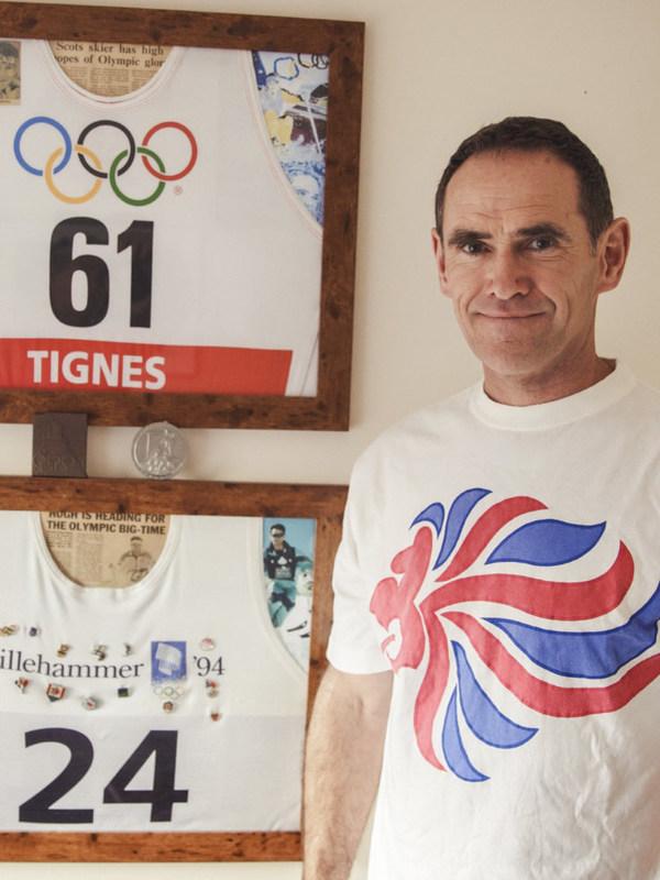 英国自由式滑雪运动员Hugh Hutchison