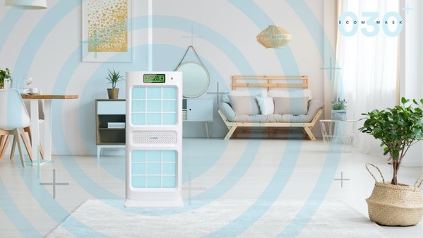 Protect the Family with The World's First Intelligent CIO2 Air Purifier