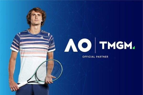 TMGM tài trợ Ngôi sao quần vợt mới nổi tiếng thế giới, Alexander Zverev, cho giải Australian Open 2021