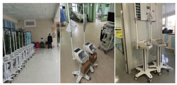 鱼跃高流量呼吸湿化治疗仪投入三甲医院临床